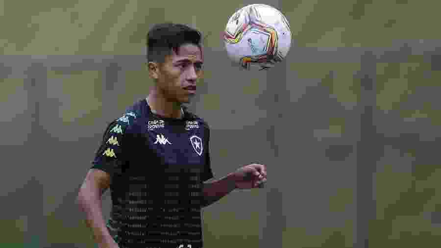 Peruano Alexander Lecaros é um dos reforços do Botafogo para 2020 - Vitor Silva/Botafogo