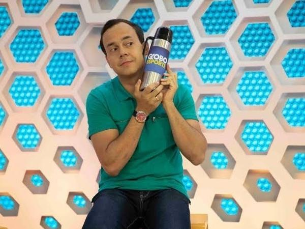 Tiago Medeiros, apresentador do Globo Esporte PE