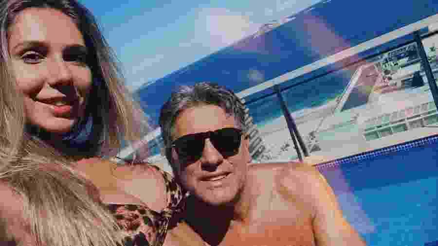 Carol Portaluppi com o pai, Renato Portaluppi - Reprodução/Instagram