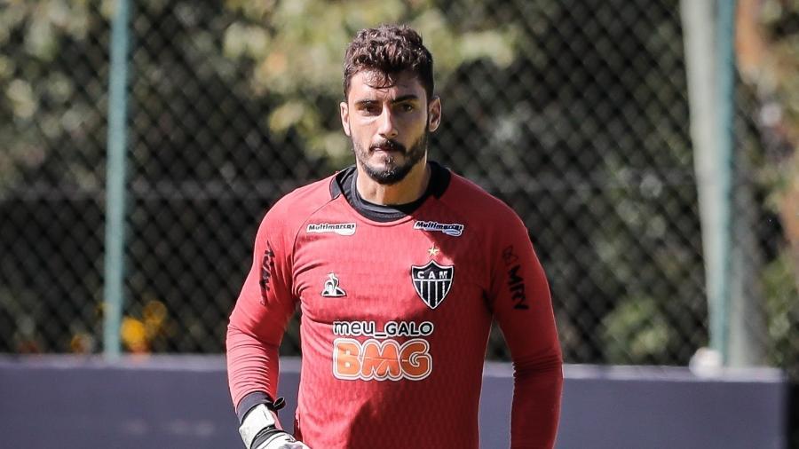 Rafael, goleiro do Atlético-MG, fez uma análise sobre o empate contra o América-MG - Bruno Cantini/Atlético-MG