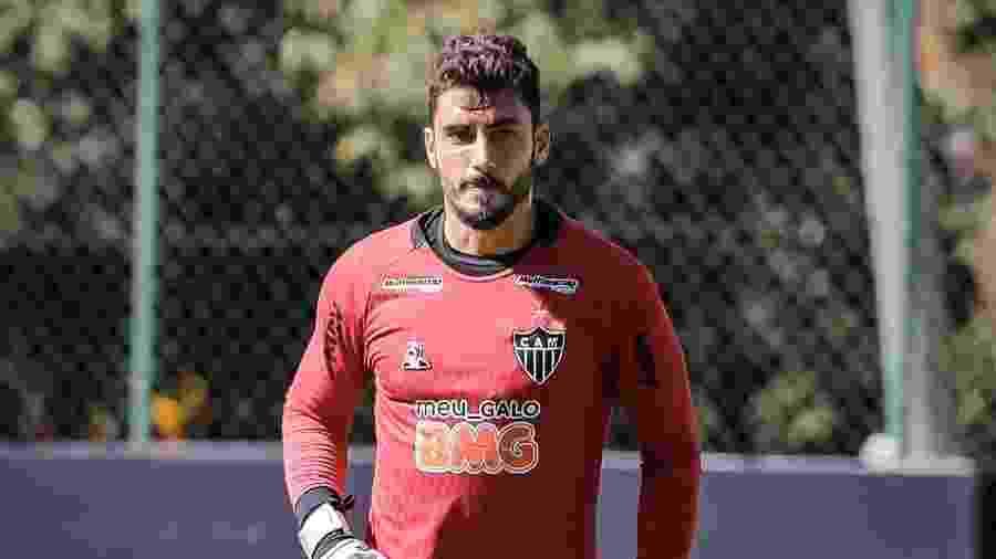 Rafael, goleiro do Atlético-MG, tenta convencer Sampaoli que pode ser o dono da posição em 2020 - Bruno Cantini/Atlético-MG
