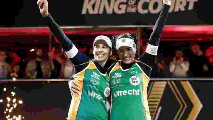 Ágatha e Duda vencem torneio na Holanda - Divulgação