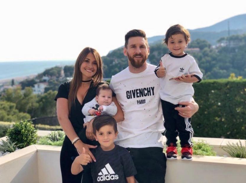 futebol muleke - familia lionel messi