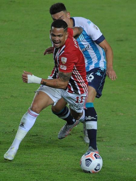 SBT escolheu transmitir São Paulo x Racing para todo o Brasil nas oitavas de final da Libertadores - AGIF/AGIF