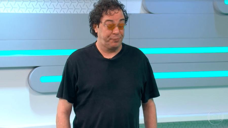 Casagrande falando sobre dependência química durante o Esporte Espetacular  - Transmissão Globo
