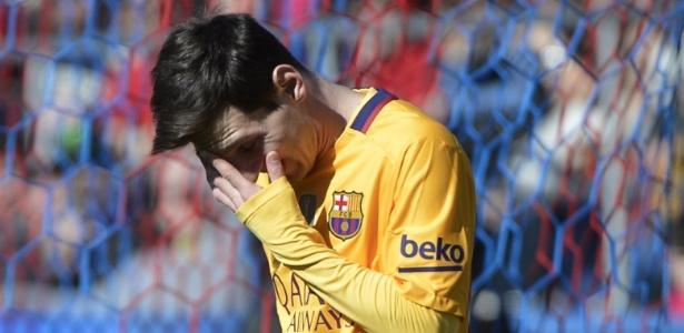 Messi passará por cirurgia para recuperar-se de um problema renal
