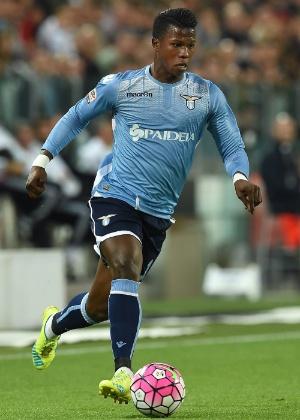 O atacante senegalês Keita Baldé em ação pela Lazio - Valerio Pennicino/Getty Images