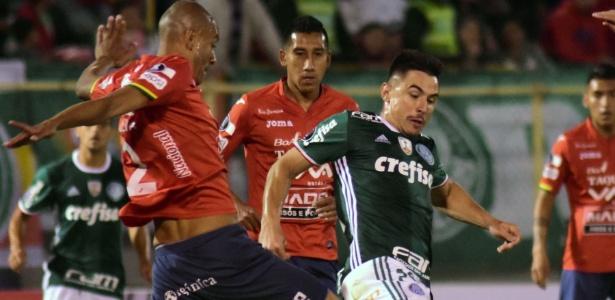 Na Bolívia, Jorge Wilstermann venceu o Palmeiras por 3 a 2, pela fase de grupos da Libertadores