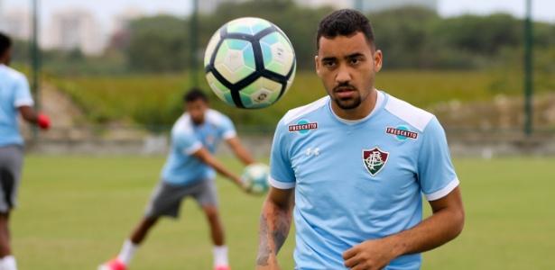 Robinho está a caminho do Coelho - LUCAS MERÇON/FLUMINENSE F.C.