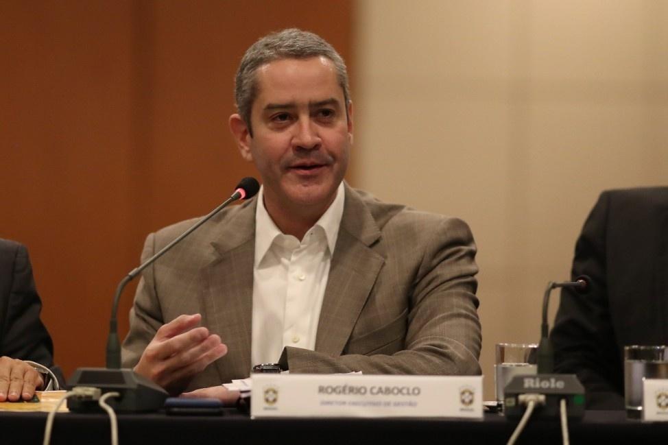 Rogério Caboclo, novo presidente da CBF