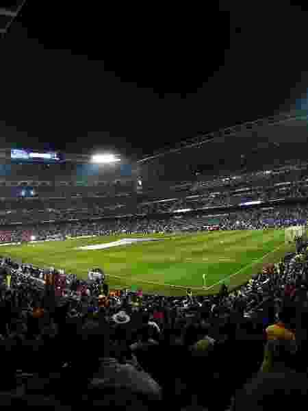 Santiago Bernabéu lotado para a final da Libertadores, entre River Plate e Boca Juniors - Rodrigo Jimenez/EFE