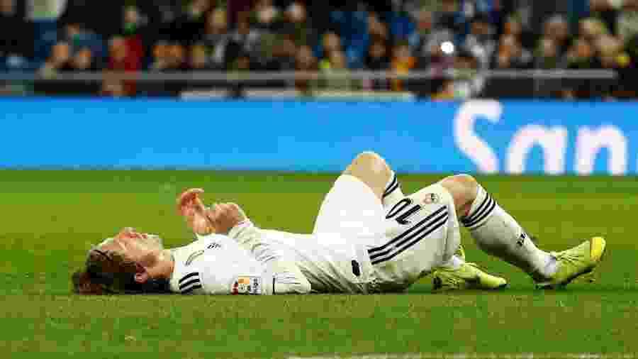 Luka Modric irá permanecer no Real Madrid até o fim do atual contrato com clube - Juan Medina/Reuters