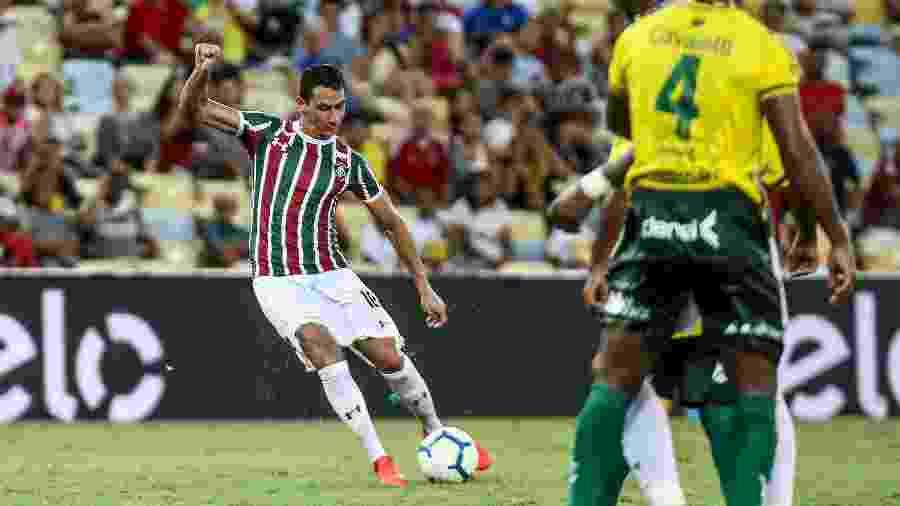Ganso marca para Fluminense  - LUCAS MERÇON / FLUMINENSE F.C.