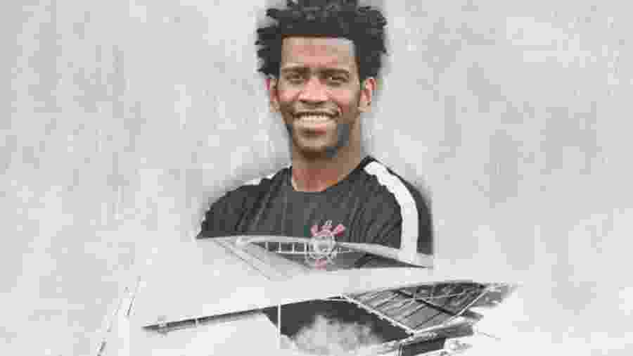 Zagueiro Gil realizou primeiro treino e, inclusive, como titular, ontem, no CT Joaquim Grava - Reprodução/Twitter