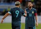 Argentina escala Aguero, Di María e Gómez contra o Paraguai; veja o time - AMMAR AWAD/AFP