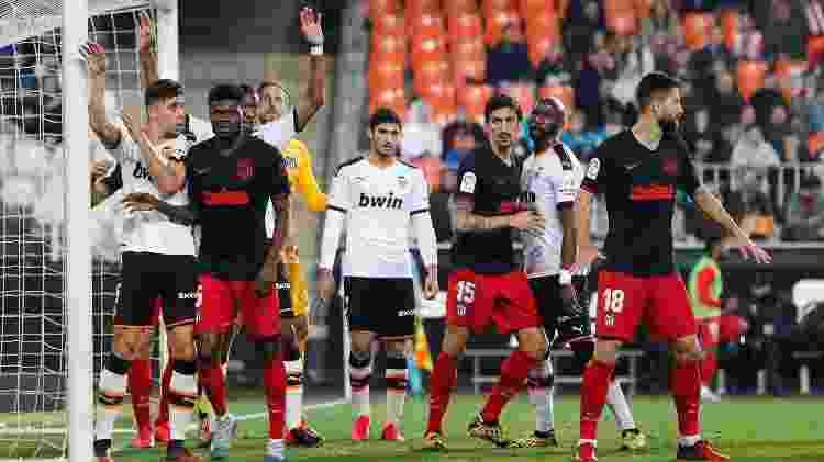 Posicionamento da defesa - Divulgação/La Liga - Divulgação/La Liga