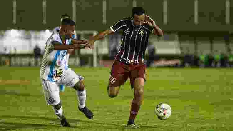 Recuperado de coronavírus, Nenê voltou ao Fluminense contra o Macaé - Lucas Merçon/Fluminense FC - Lucas Merçon/Fluminense FC