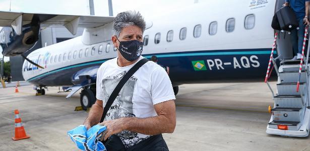 Por conta de temporal | Avião com elenco do Grêmio arremete na volta ao RS