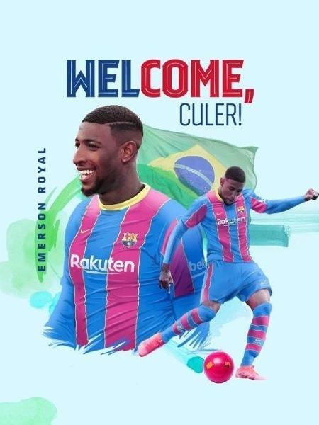 Emerson Royal chegou a acordo com o Barcelona - Divulgação