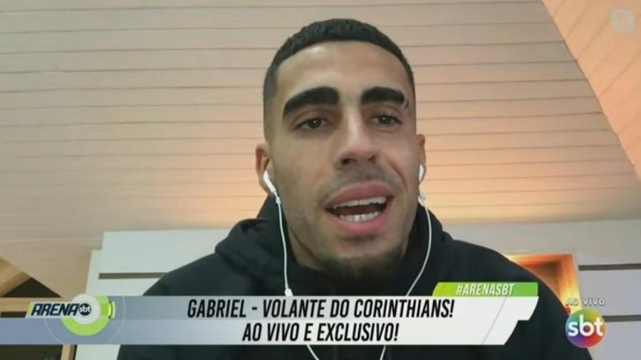 Gabriel, do Corinthians, diz que documentário da Globo não atrapalhou temporada - Reprodução/SBT