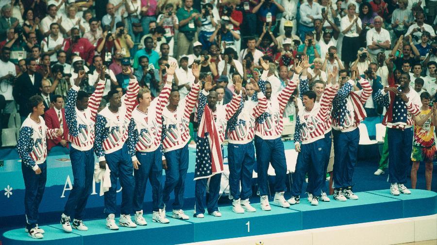 Os EUA dominam o basquete olímpico masculino e feminino, mas essa não é a maior hegemonia de um país em uma modalidade...  - Dimitri Iundt/Corbis/VCG via Getty Images