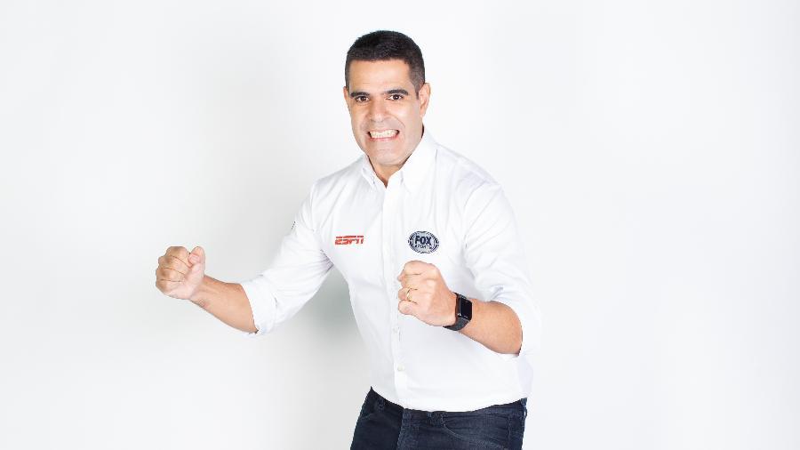 Narrador do grupo Disney, Paulo Andrade está pronto para mais uma temporada do futebol internacional - Guido Bompan