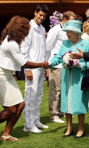 Realeza tem lugar reservado em Wimbledon. E tenistas são obrigados a usar branco