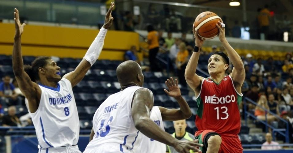 República Dominicana e México se enfrentam pelo basquete masculino