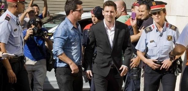 Messi é investigado pela Justiça espanhola por sonegação fiscal - Reprodução
