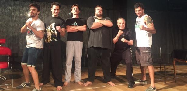 Ator faz ex-lutador de MMA em peça de teatro - Divulgação