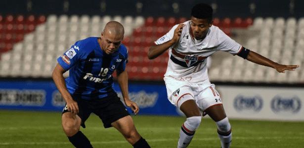 São Paulo foi campeão da Libertadores sub-20 após vencer o Liverpool-URU