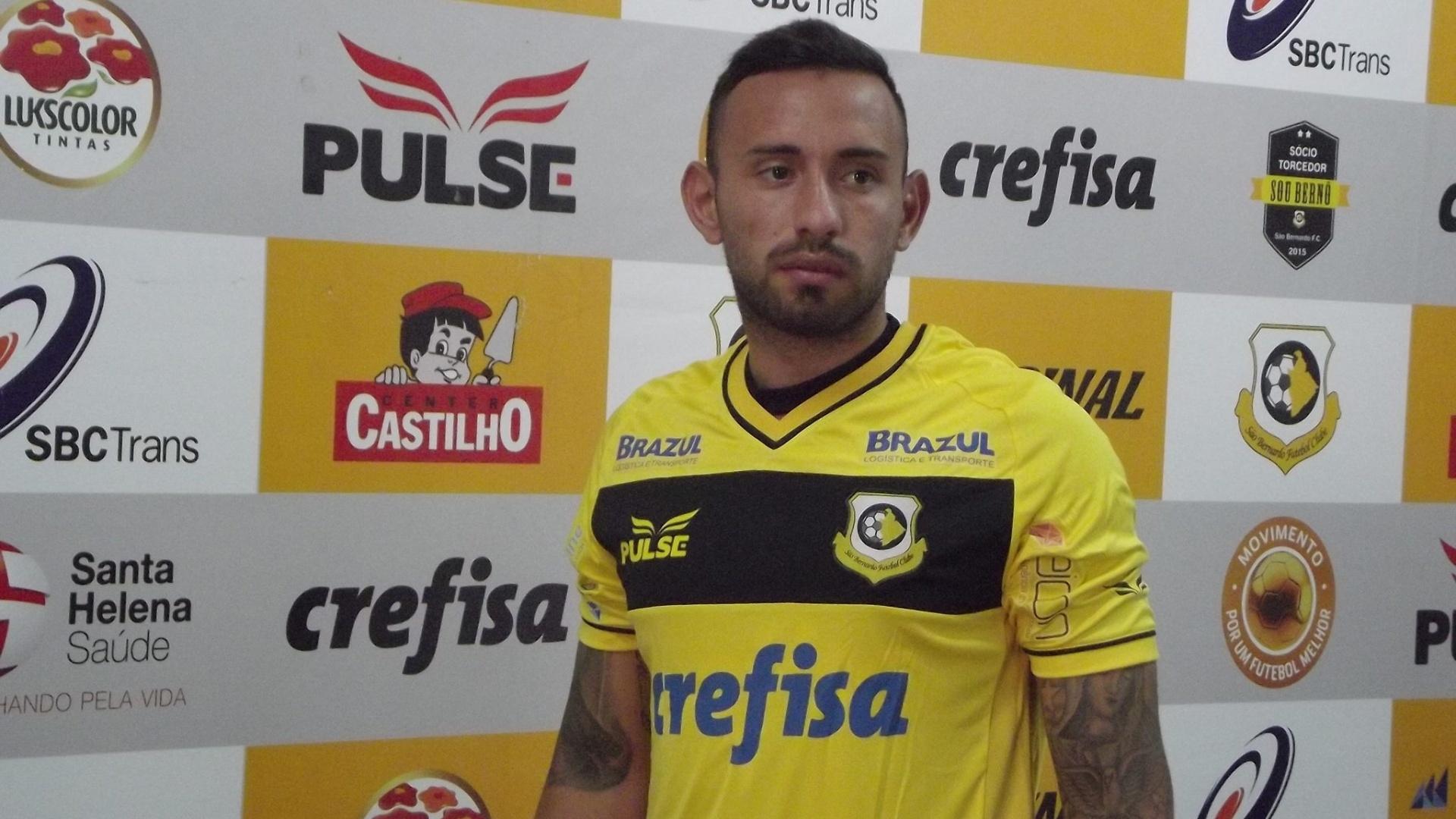 Marcelo Cañete é apresentado no São Bernardo