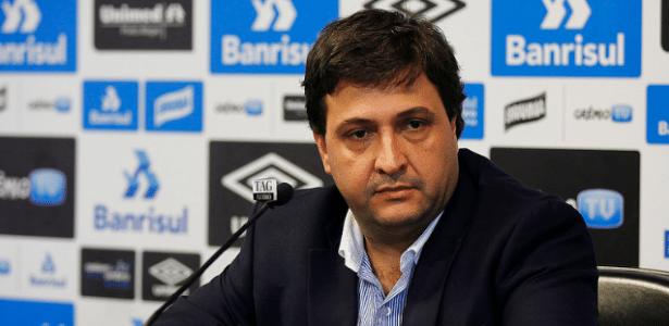 Alberto Guerra assumiu como vice de futebol do Grêmio e quer reforços