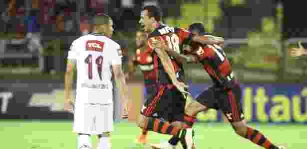 Flamengo é melhor no primeiro tempo 776bf97325417