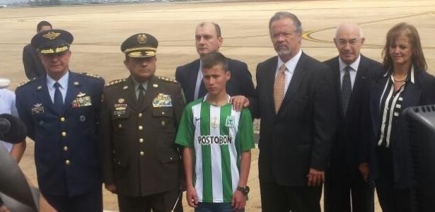 Alexis Ramírez Castro nunca tinha viajado de avião - Daniel Brito/UOL