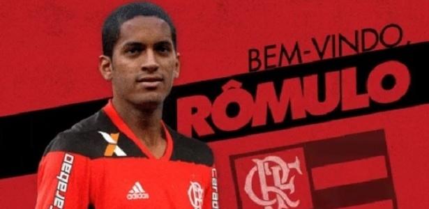 Rômulo é uma das novidade do Flamengo para a temporada 2017