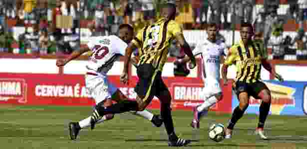 Richarlison arrisca chute - Mailson Santana/Fluminense FC - Mailson Santana/Fluminense FC