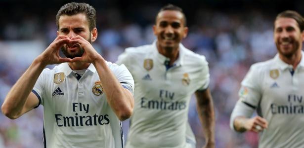 Nacho marcou na vitória do Real Madrid sobre o Sevilla