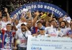 Libertadores, Copa do Brasil e do Nordeste: veja os gols da quarta-feira (Foto: Raul Spinassé/Agência A Tarde/Estadão Conteúdo)