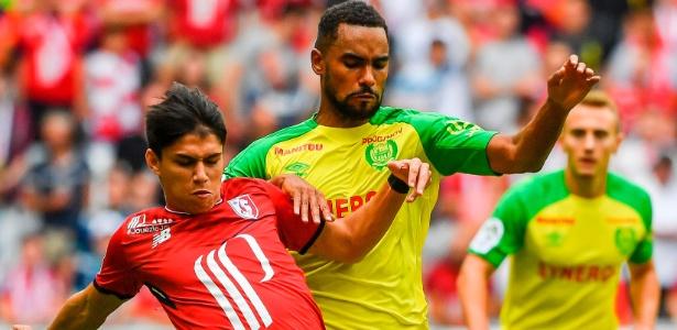 Destaque do São Paulo no início da temporada, Luiz Araújo foi negociado com o Lille - PHILIPPE HUGUEN/AFP