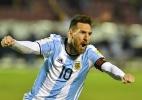 Por telefone, Macri parabeniza Messi por classificação para a Copa do Mundo (Foto: Juan Ruiz/AFP)