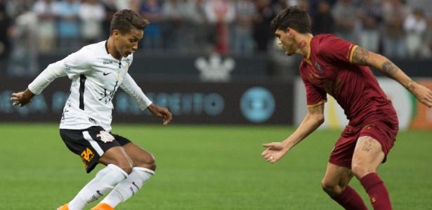 Nas últimas quatro partidas, o atacante só entrou nas duas do Brasileiro contra Fluminense e Paraná  - Daniel Vorley/AGIF