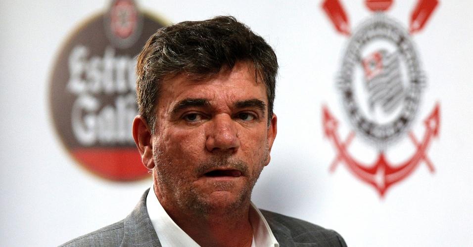 Andrés Sanchez, deputado federal e presidente do Corinthians