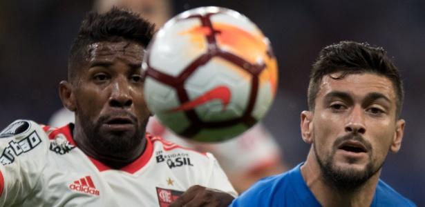Arrascaeta em ação contra o Flamengo; meia retornou da seleção uruguaia - Pedro Vale/AGIF
