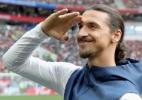 """Ibra ironiza Bola de Ouro: """"Florentino competia com Messi, não CR7"""" - Alexander Hassenstein/Getty Images"""