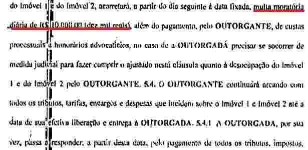 Caso não entregue as coberturas prontas até dia 5 de janeiro, multa diária de R$ 10 mil - Reprodução