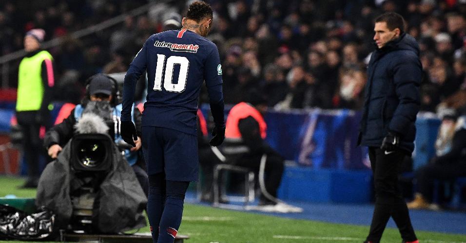 Neymar PSG lesão Strasbourg