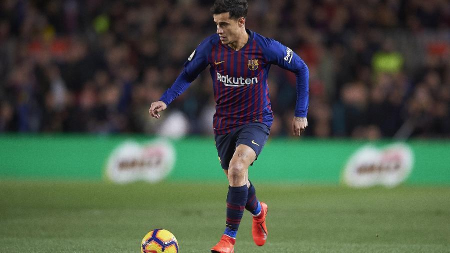 Philippe Coutinho está em má fase no Barcelona - Sergio Ruiz/DiaEsportivo