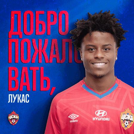 CSKA anuncia meia Lucas Santos, do Vasco - Reprodução Twitter / CSKA
