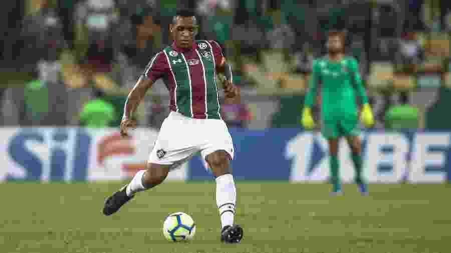 Com lesão na coxa esquerda, Digão virou desfalque no Fluminense - Lucas Merçon/Fluminense FC